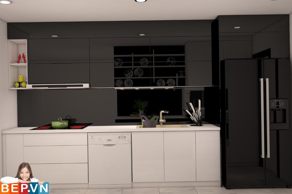 Thiết kế tủ bếp song song  với mục đích mang lại sự tiện lợi trong các hoạt động chuẩn bị cũng như trải nghiệm nấu nướng của người nội trợ.