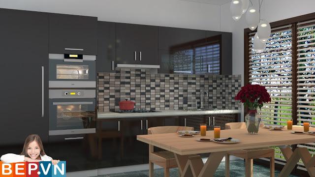 Giải pháp cho căn bếp đen hoàn hảo