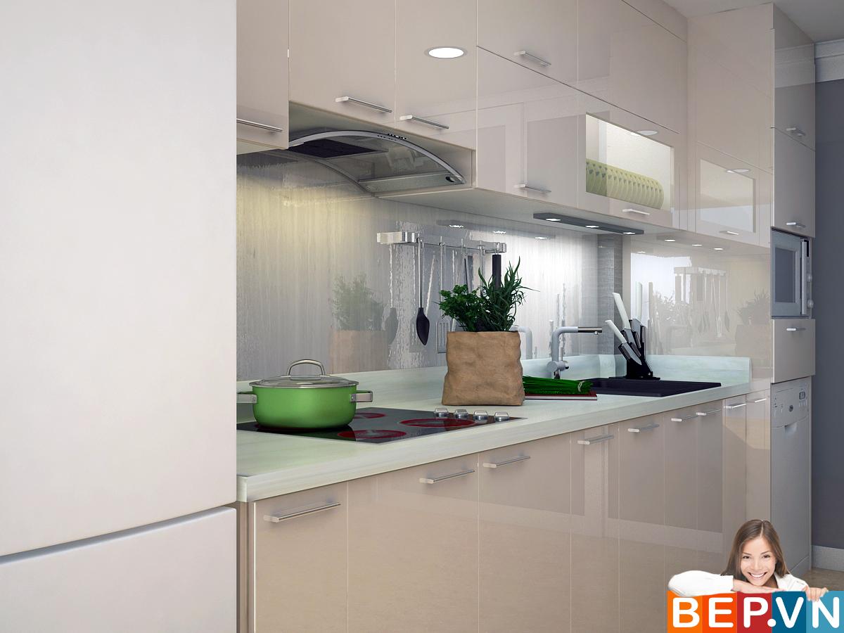 3 thiết kế tủ bếp ấn tượng cho phòng bếp nhỏ - Ảnh 9