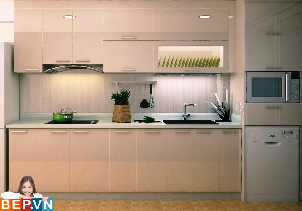 3 thiết kế tủ bếp ấn tượng cho phòng bếp nhỏ - Ảnh 10