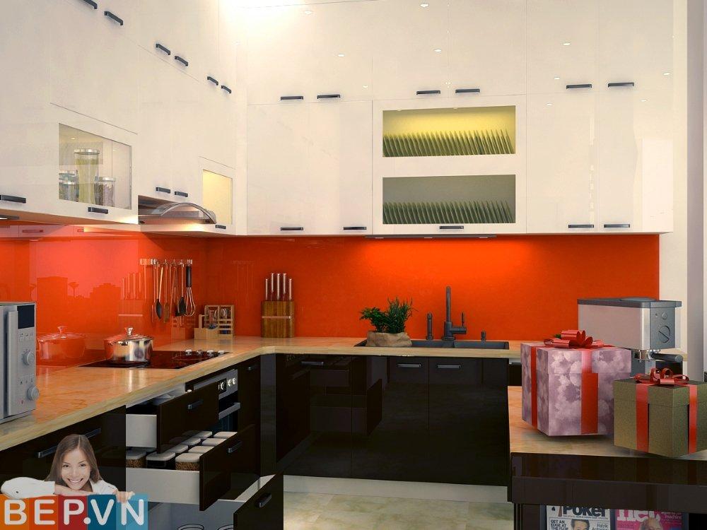Do có nhiều ưu điểm về tính ứng dụng thực tế cũng như mang lại giá trị thẩm mỹ cao nên tủ bếp chữ L kịch trần đã ,đang và sẽ là lựa chọn cho những căn bếp hiện đại về sau.