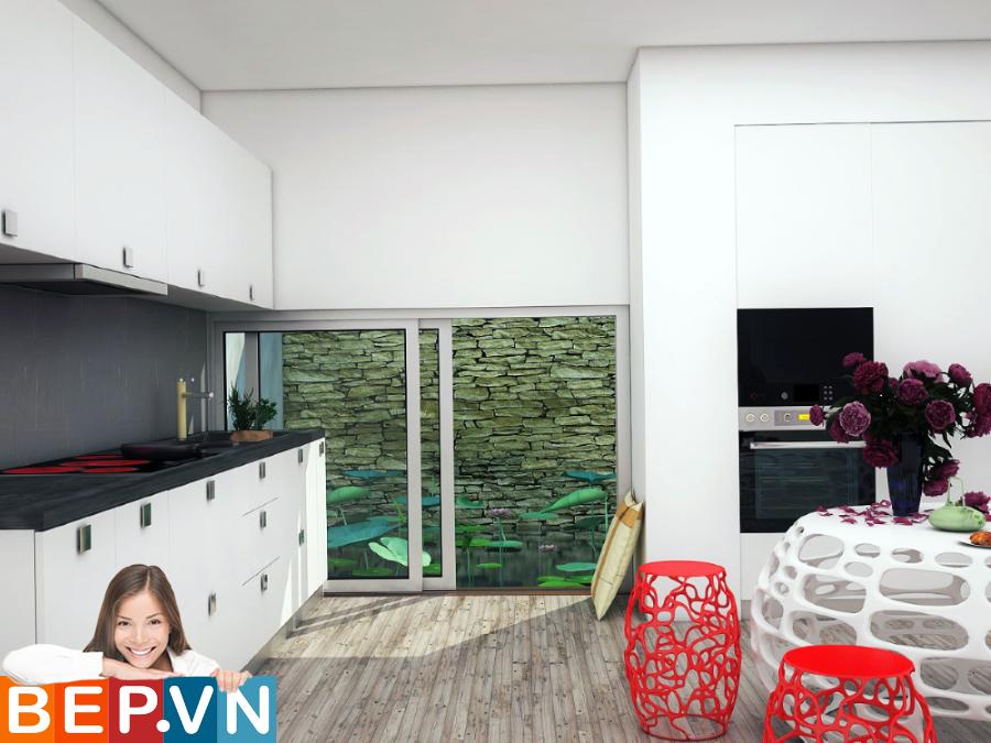 3 thiết kế tủ bếp ấn tượng cho phòng bếp nhỏ - Ảnh 7