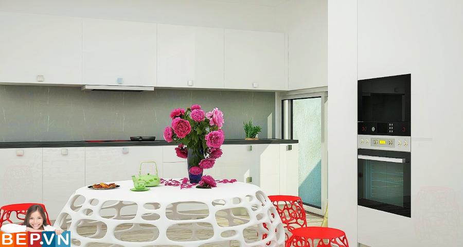 3 thiết kế tủ bếp ấn tượng cho phòng bếp nhỏ - Ảnh 8