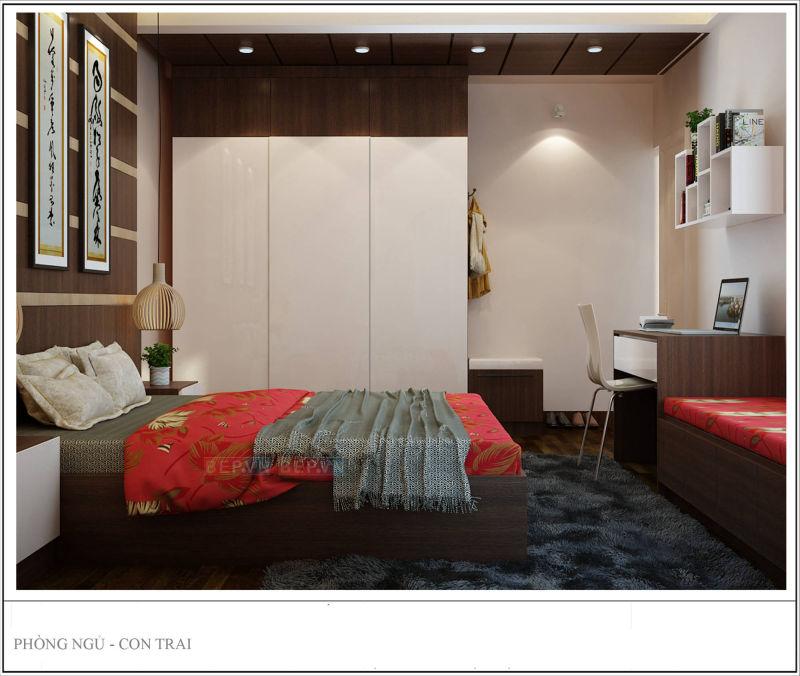 Phòng ngủ - thiết kế nội thất cô phượng nguyễn chánh