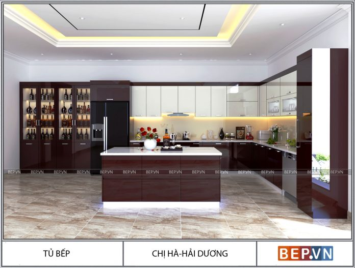 Thiết kế nội thất nhà chị hà- Hải Dương