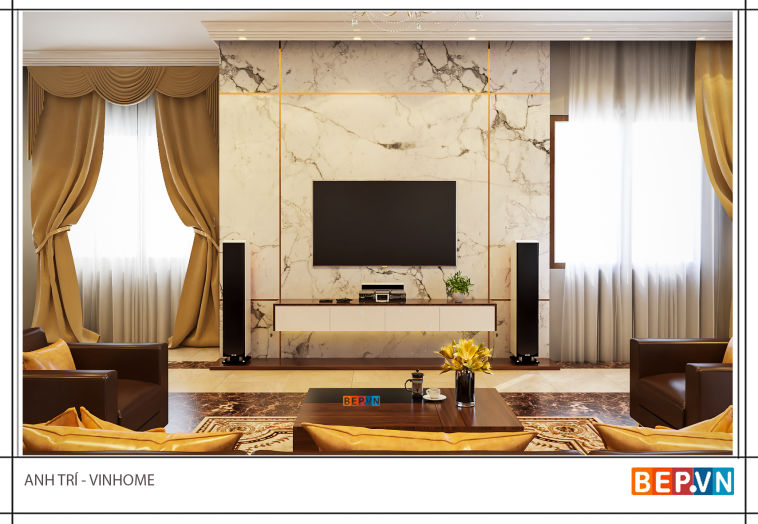 Thiết kế nội thất anh Trí - Vinhome