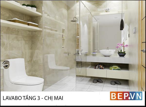 Thiết kế nội thất chị Mai Ecopark