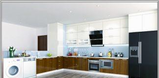 Thiết kế tủ bếp an toàn
