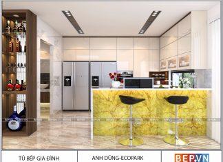 Mách bạn cách lựa chọn màu sắc tủ bếp theo phong thủy