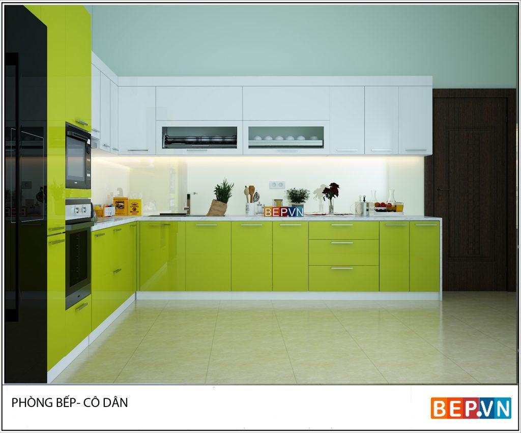 Mách bạn chọn tủ bếp chung cư đẹp mãn nhãn