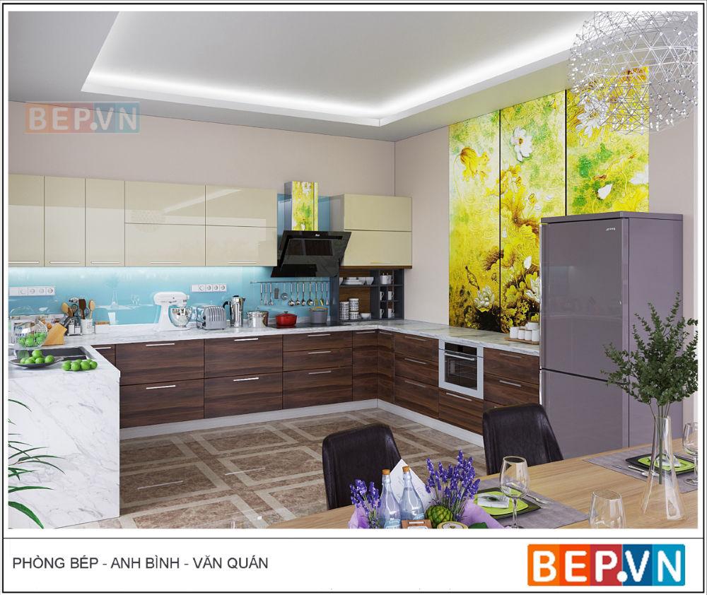 Nhà bếp anh Bình