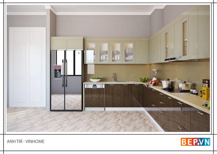Thiết kế nội thất nhà anh Trí - Vinhome