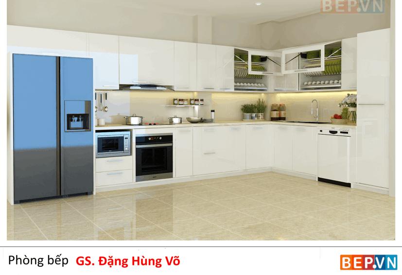 Tủ bếp nhà GS Đặng Hùng Võ