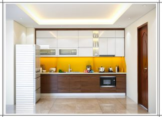 Thiết kế tủ bếp chữ i gia đình anh Tuấn