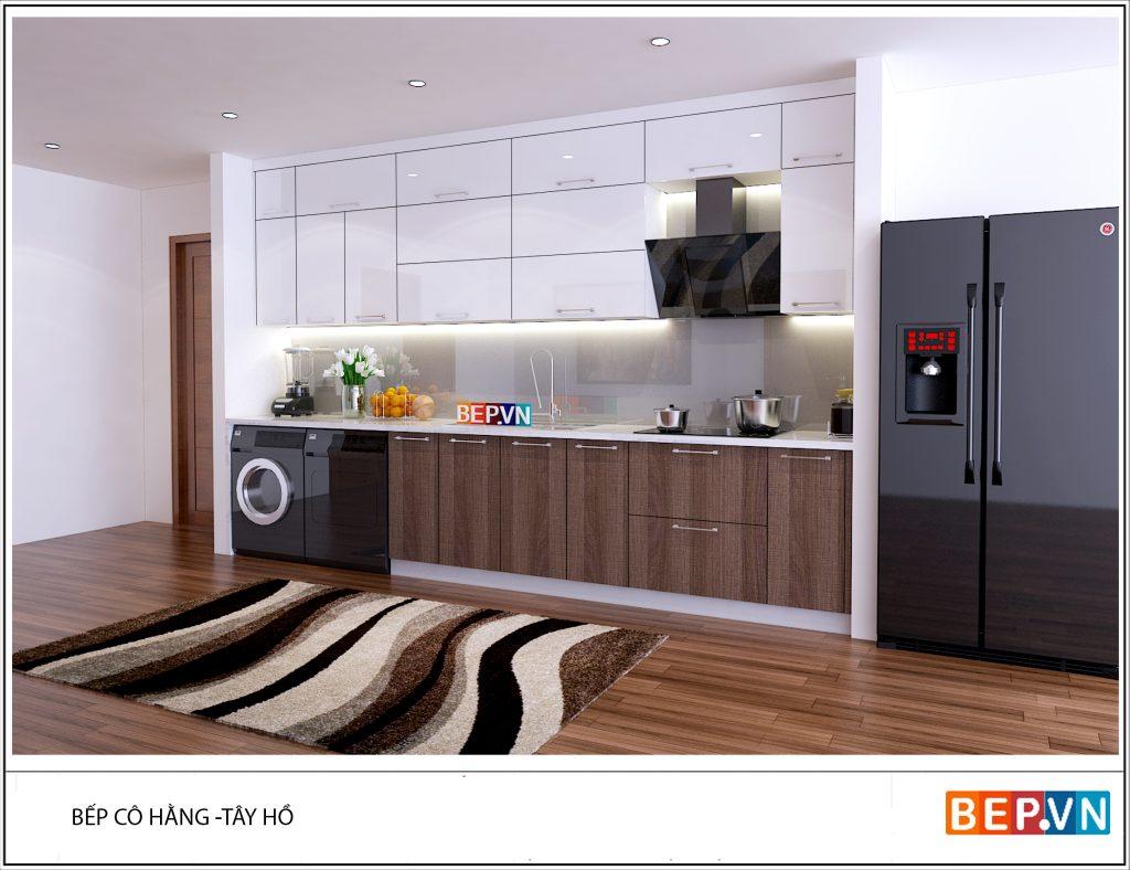 Thiết kế tủ bếp hiện đại khiến bạn muốn chi tiền