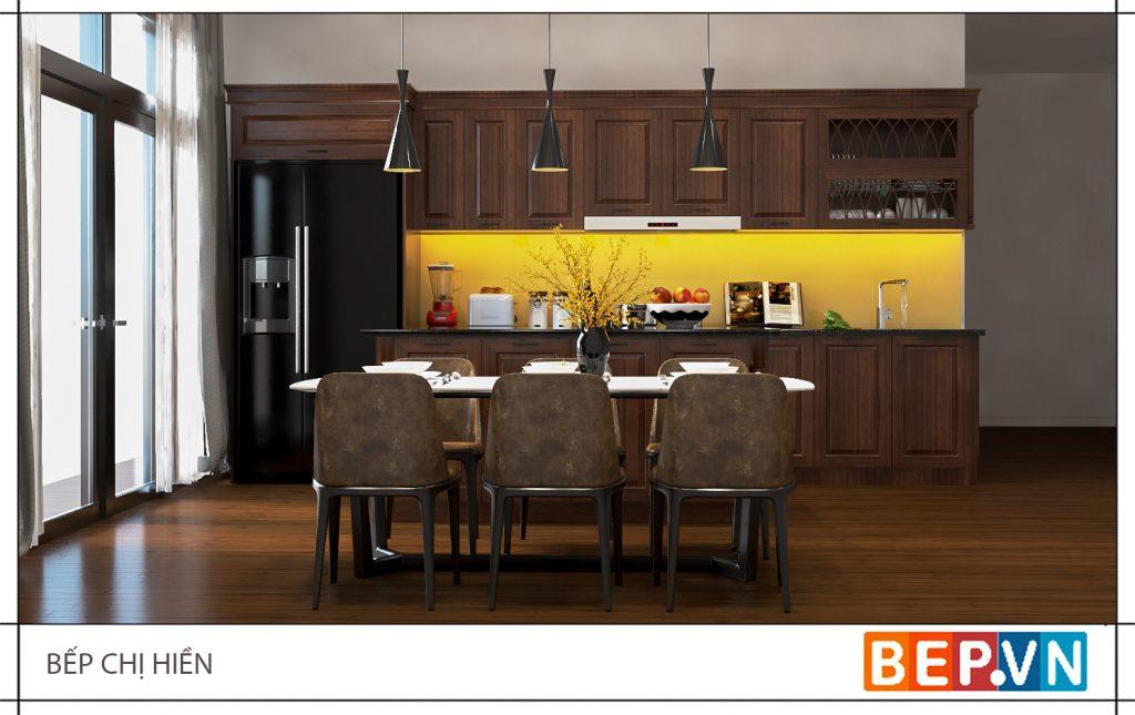 Ưu và nhược điểm của tủ bếp gỗ tự nhiên bạn đã biết?