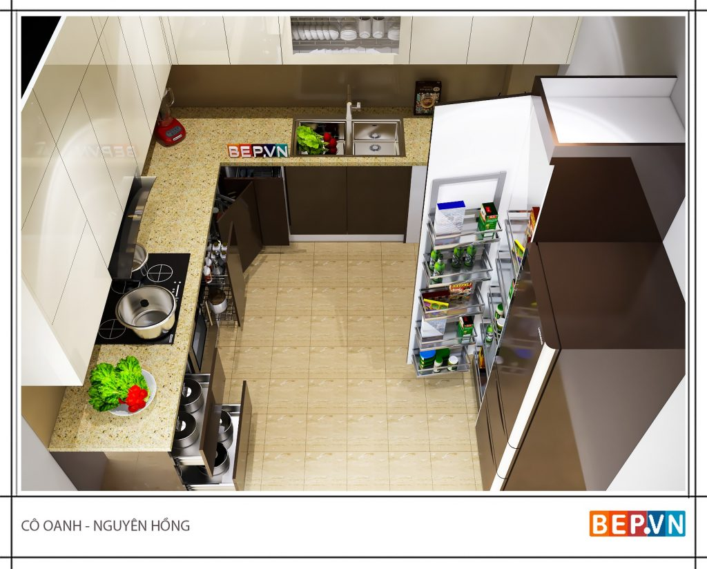 5 điều không thể bỏ lỡ khi thiết kế nhà bếp