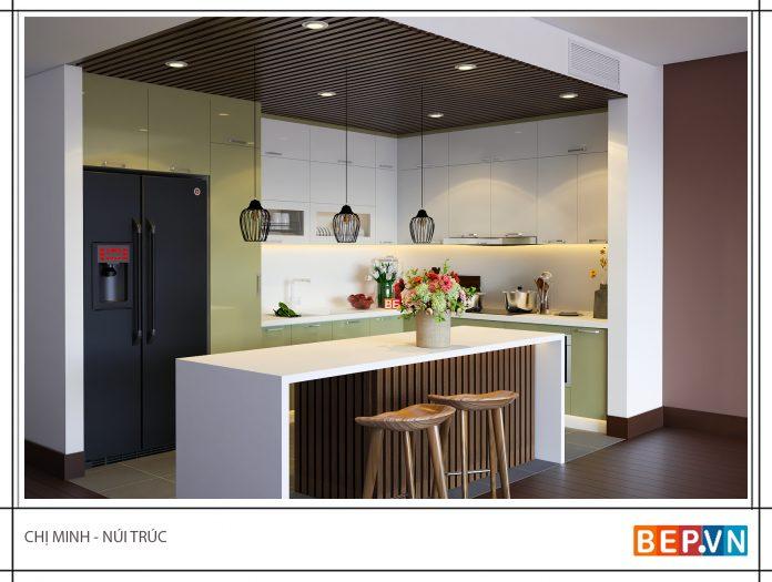 Chọn màu tủ bếp như thế nào là hợp phong thủy?