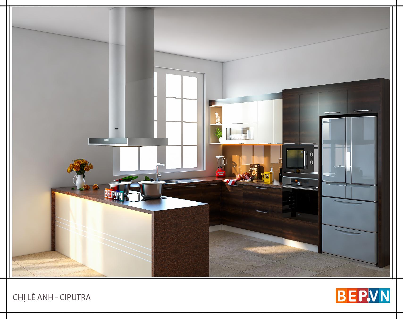 Không gian nhà bếp đẹp có thật sự cần thiết cho cuộc sống hiện đại?