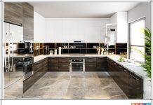 Nên lựa chọn tủ bếp gỗ tự nhiên hay gỗ công nghiệp
