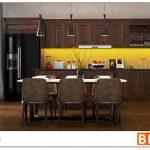 Lựa chọn tủ bếp gỗ Công nghiệp hay tủ bếp gỗ tự nhiên?