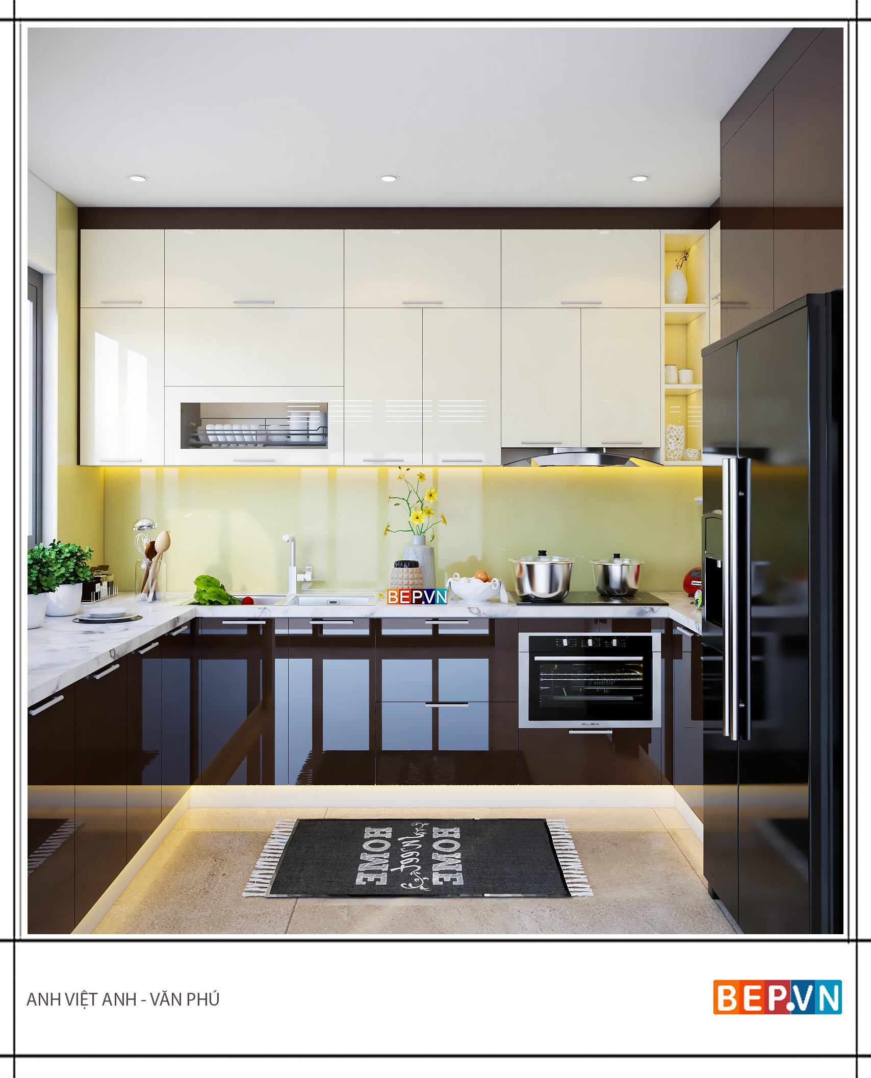 Tủ bếp Acrylic là gì? Tại sao nên sử dụng tủ bếp Acrylic?