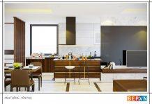 4 ý tưởng tủ bếp hiện đại cho không gian mở