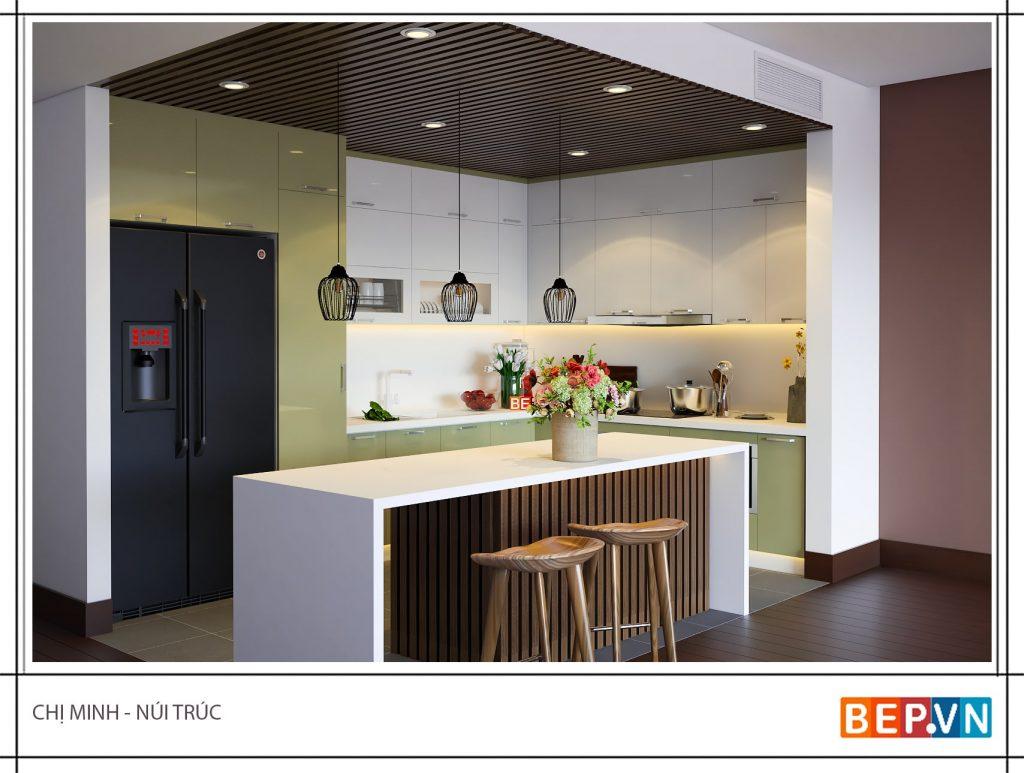 Tủ bếp đẹp hiện đại cho mọi không gian bếp
