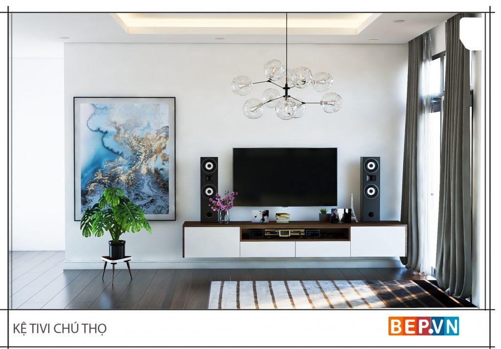 Thiết kế nội thất hiện đại, độc đáo giá đình chú Thộ
