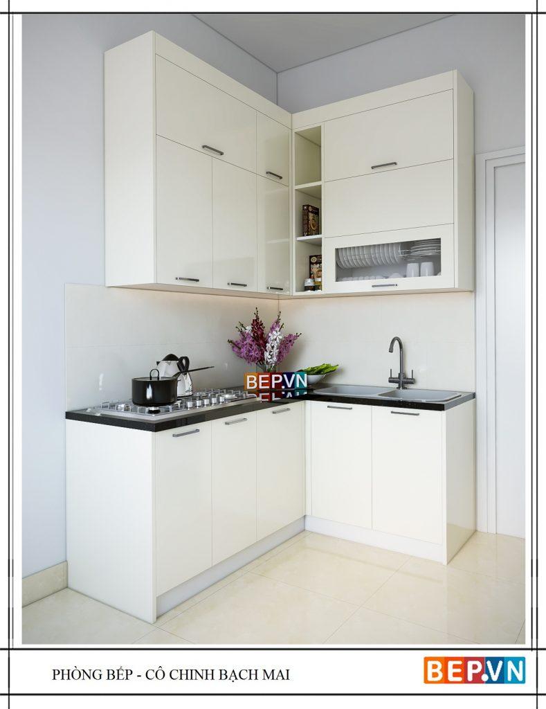 Thiết kế tủ bếp đẹp,. đơn giản
