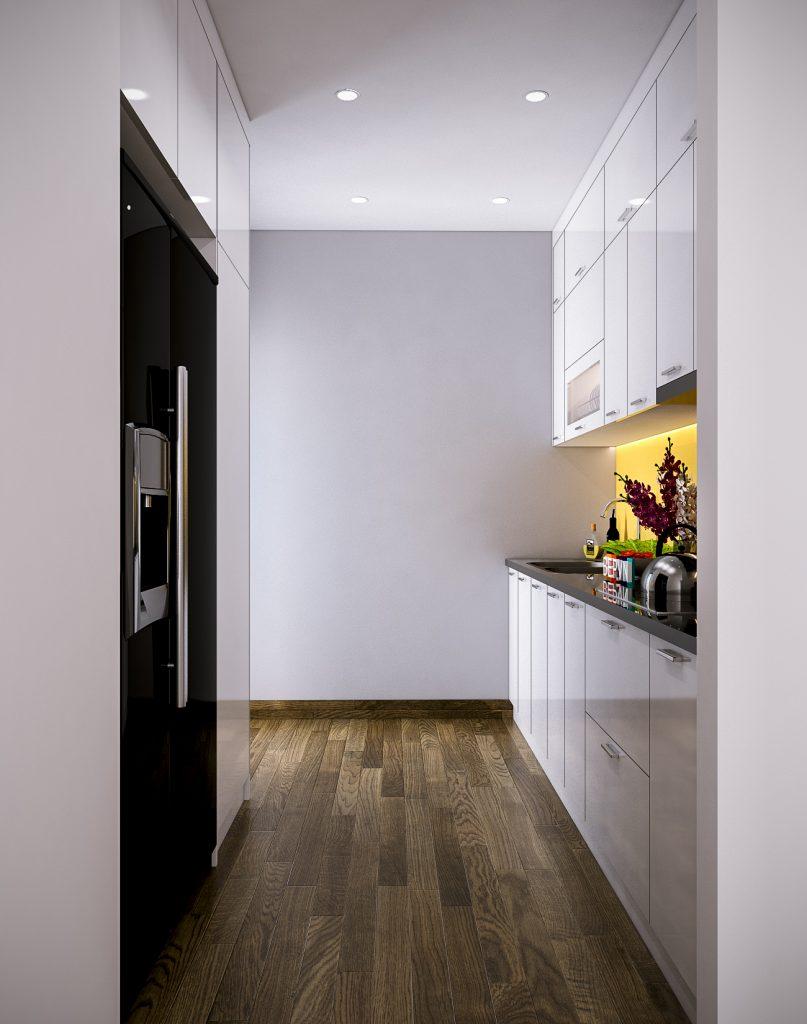 Thiết kế tủ bếp nhỏ gọn