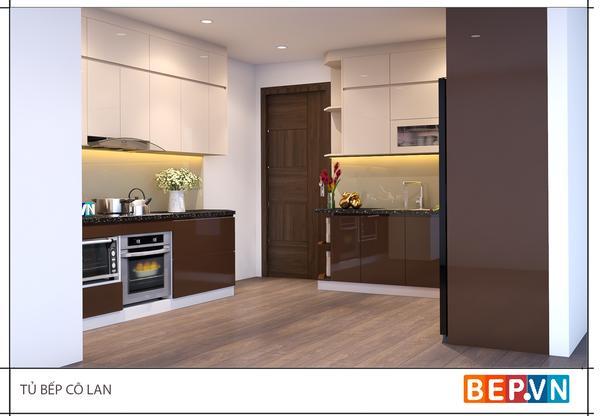 Thiết kế tủ bếp cho diện tích bếp nhỏ hẹp