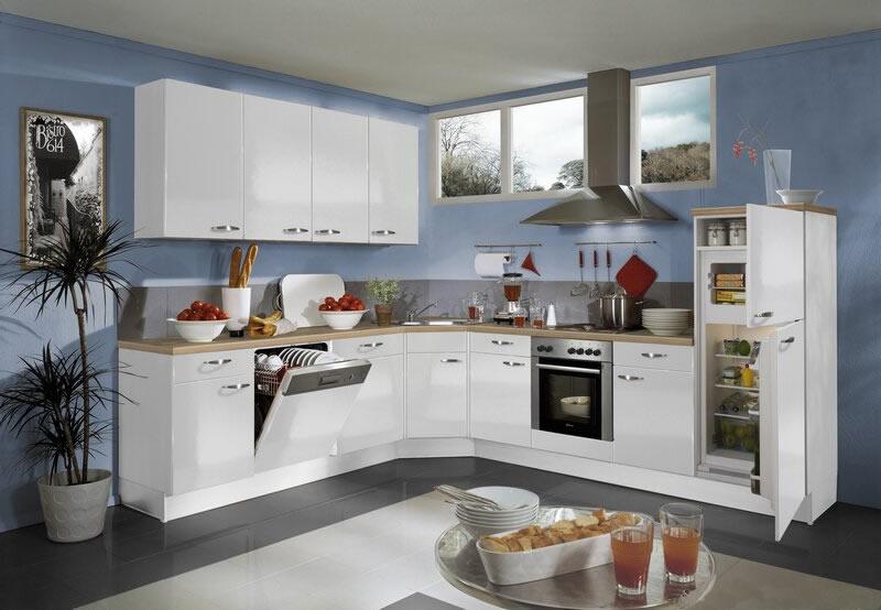 Không gian bếp đẹp với phụ kiện bếp hiện đại