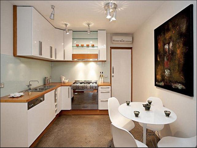 Mẫu nhà bếp đẹp nhỏ gọn