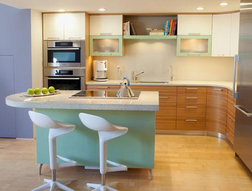 Nhà bếp đẹp khi Thiết kế tối hóa công năng sử dụng