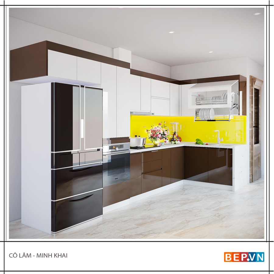 Ý tưởng thiết kế phòng bếp đẹp hiện đại