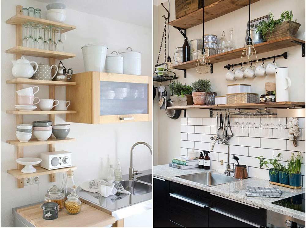 Mẫu nhà bếp đẹp hiện đại với việc sử dụng gốm