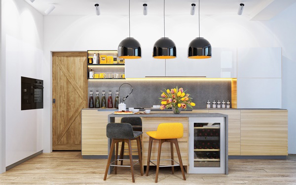 Nhà bếp dành cho các cặp đôi