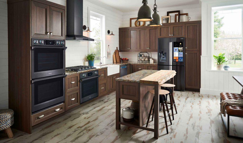 Nhà bếp sử dụng bếp ga