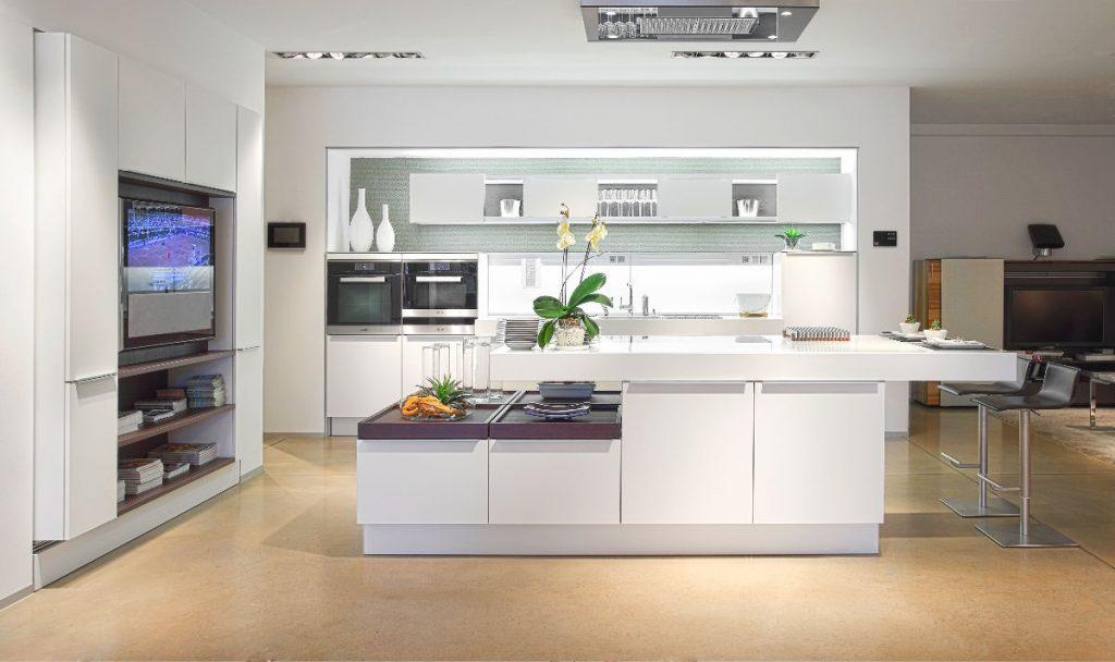 Nhà bếp làm trung tâm của ngôi nhà