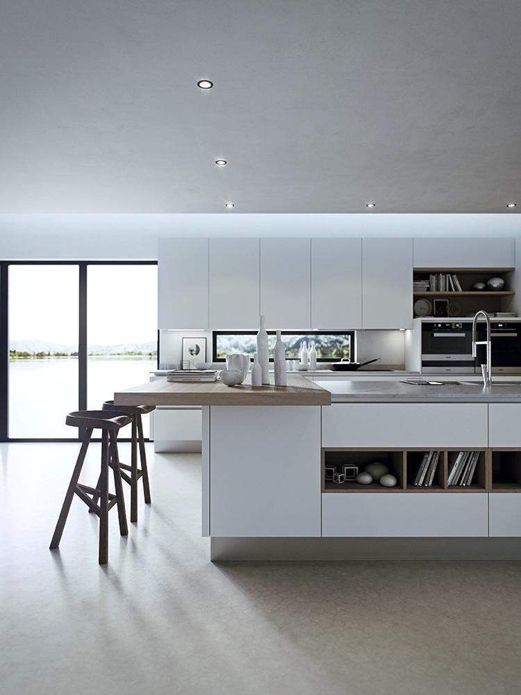 thiết kế tủ bếp đẹp hoàn hảo ấn tượng