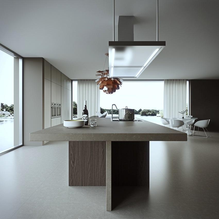 thiết kế tủ bếp đẹp hoàn hảo sáng tạo và độc đáo