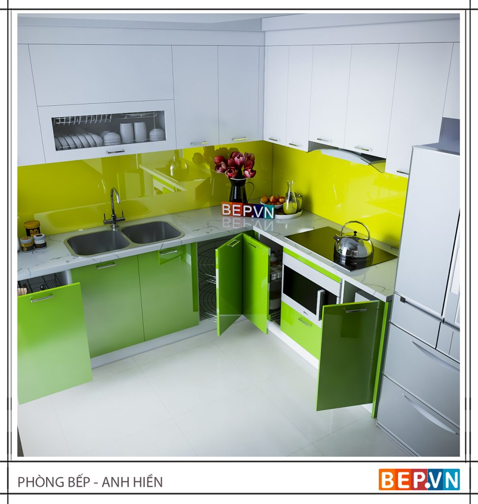 Không chỉ tiện lợi, giá góc tủ lạnh còn mang đến giá trị thẩm mỹ, giúp căn bếp trở nên đẹp hiện đại.