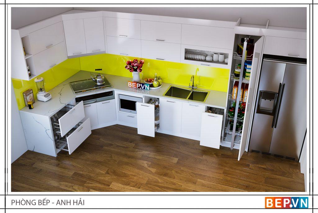 Phụ kiện inox không thể thiếu trong mỗi căn bếp chính là giá xoong nồi tiện lợi.