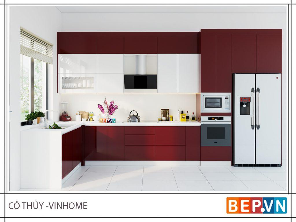 Bạn cần chú ý về màu sắc theo phong thủy phòng bếp