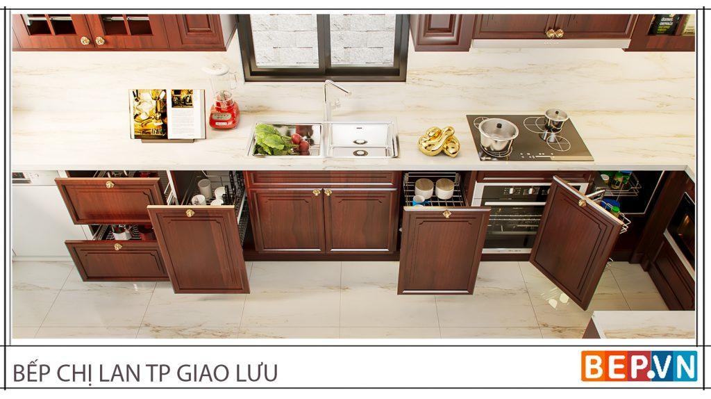 Phụ kiện tủ bếp thông minh cho nhà bếp hiện đại, tiện nghi