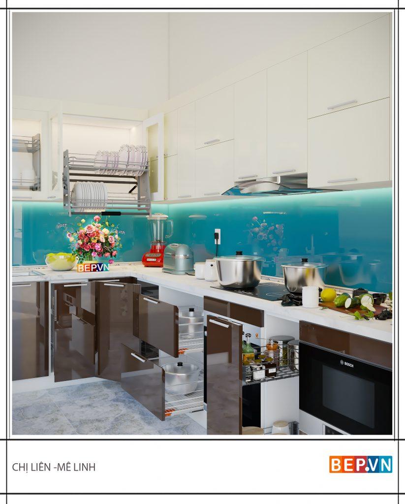 Lựa chọn phụ kiện tủ bếp hiện đại, thông minh