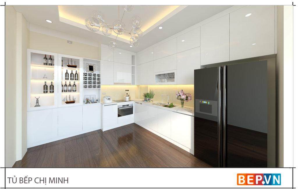 Hạn chế bật đèn treo-đèn thả trần có ánh sáng màu trong quá trình nấu nướng.