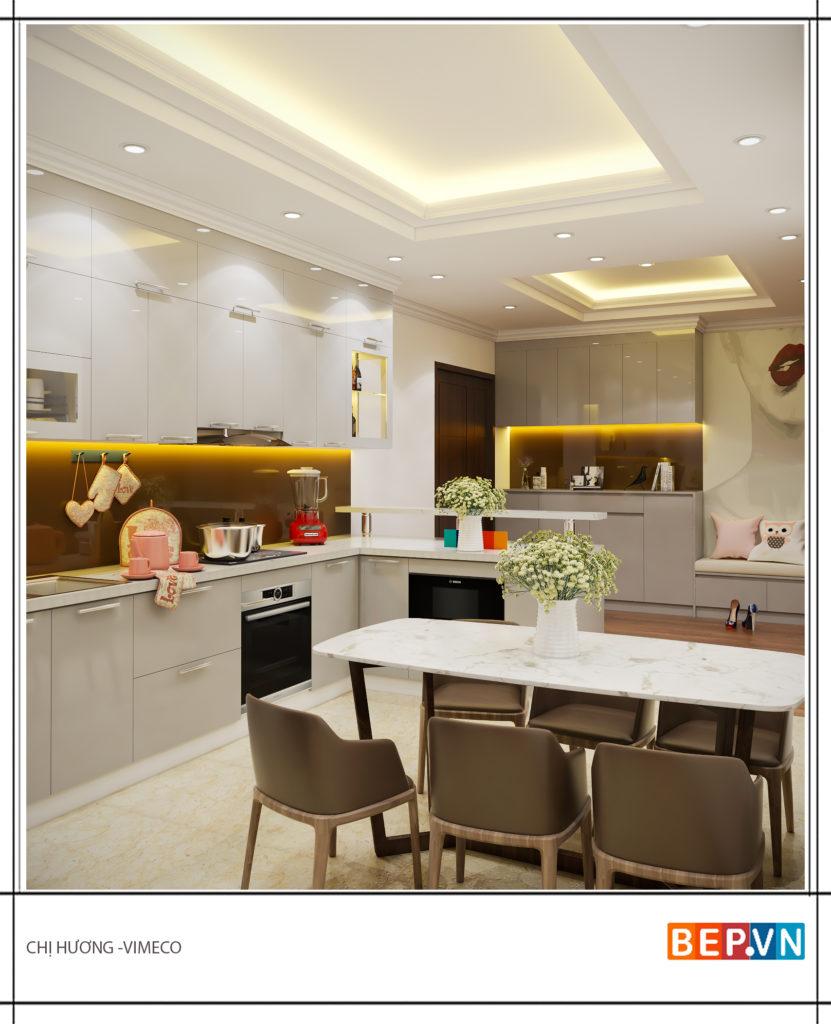 Đèn Led cảm ứng thông minh cho hệ tủ bếp hiện đại.