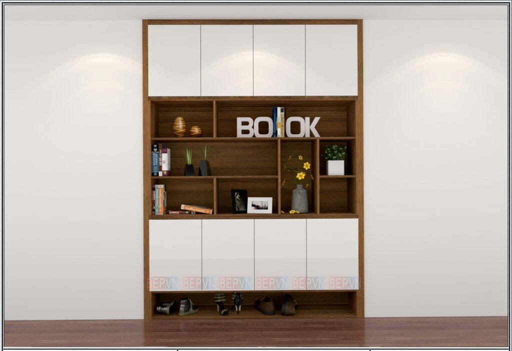 thiết kế tủ giầy nhà chung cư